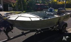 *Price Drop* 2003 4m Stacer dinghy with a 2003 25hp