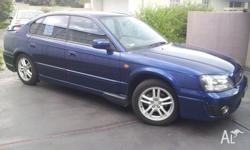 2003 SUBARU LIBERTY RX 2.5 REGO TILL FEB 2014 SERVICED