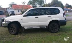 Up for sale is my 120 series Toyota Prado. 2.7L petrol,
