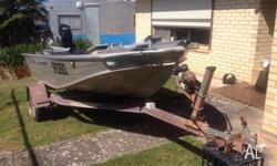 Boat, Trailer and Accessories $4,500 ono 2004 3.85