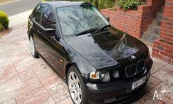 This BMW 318ti (No Badge) Hatch has 8 airbags fitted