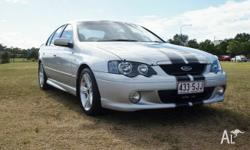 2004 Ford Falcon BA MkII XR6 Silver 4 Speed Automatic