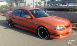 2004 ba falcon xr6 turbo luxary pac p-leather sun roof