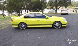 Hi up for sale my 2004 ba xr6 sedan its a great car but