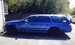 2004 Ba ford station wagon 210km 4 brand new tyres New