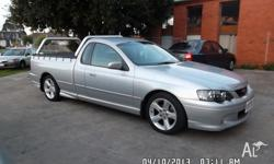 2004 FORD FALCON XR6 UTE IN VERY GOOD CONDITION, SOLD