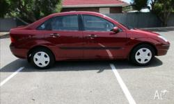 2004 FORD FOCUS SEDAN IN IMMACULATE CONDITION INSIDE &