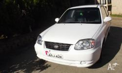 Make: Hyundai Model: Accent Mileage: 287,751 Kms Year: