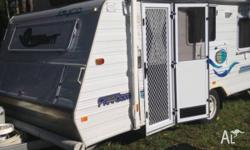 2004 jayco freedom pop top. excellent condition, 2