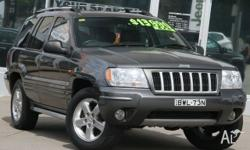 2004 JEEP GRAND CHEROKEE VISION 4.8 V8 AUTOMATIC 4X4
