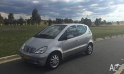 This Mercedes-Benz A160 2004 has a punchy little 1.6