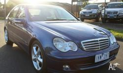 2005 Mercedes Benz C180 KompressorEleglance Sedan in