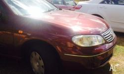 I am seelling my Nissan Pulsar 2004. The car in best