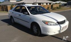 "Hi up for sale is my Toyota Camry ""04. Great car very"