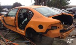 2005 BA XR8 ute available for wrecking. 206KW. 2009