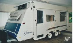 Compass Poptop - Tandem Axles with 4 wheel electric
