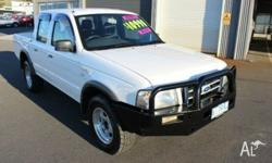 Auto 4x4 Dual Cab Ford Courier with aircon and power