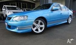 2005 FORD FALCON BA XR6 IN 5 SPEED MANUAL. BEAUTIFULLY