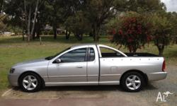 BA MK2 XLS ute,second owner always serviced,low