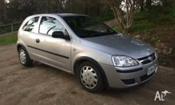 Looking to sell my 2005 Holden Barina Automatic and