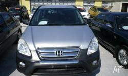 2006 compliance Honda CR V manual drives very well and