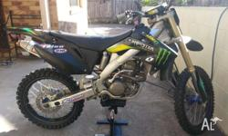 Up for sale is my 2005 Honda CRF250R, it has recently