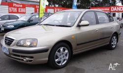 2005 Hyundai Elantra 2.0 hvt engine with low klms in an