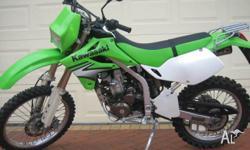 kawasaki klx250 2005 mod bike in excellent condition,as