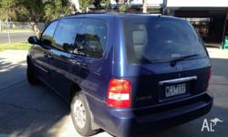 Kia carnval , 2005 model , 7 seaters with low Ks and