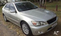 2005 Lexus IS200, Automatic, rego, rwc, logbooks, one