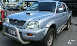 MITSUBISHI TRITON GLX-R UPGRADE MY05.5 THIS IS THE ONE