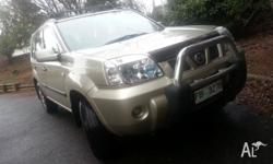 For sale 2005 nissan x trail. Automatic, roof racks,
