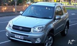 2005 TOYOTA RAV4 cruiser . Immaculate condition. Only