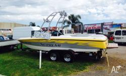 2005 220sp ski supreme wake boat, selling my pride and