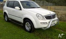 2005 Ssangyong Rexton - 4x4 Suv - Manual - Pwr steer -