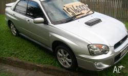 Make: Subaru Model: Impreza Mileage: 155,000 Kms Year: