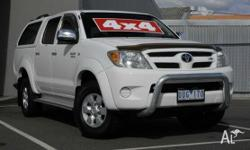 This 2005 SR5 4x4 dual cab hilux IS the best presented