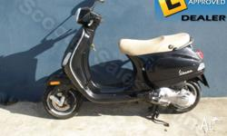 The Vespa LX125 is a fashion scooter, so it�s well