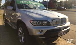 2006 BMW X5 E53 Turbo Diesel 6 Speed Auto 4x4 Wagon