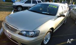 2006 ford falcon wagon auto, drive away no more to pay