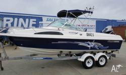"2006 HAINES HUNTER 580 BREEZE. This beauty is in ""AS"
