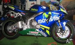 2006 Honda CBR600RR Movistar Limited edit. Very low kms