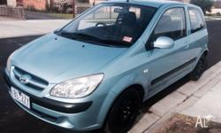 Lady owner selling 2006 hyundai getz manual 13 months