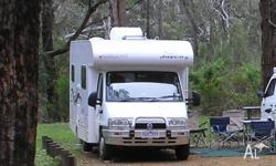 2006 JAYCO CONQUEST MOTORHOME first registered February