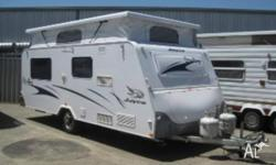 2006 Jayco Sterling Poptop Caravan Features Include: