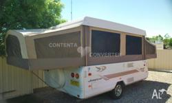 2006 Jayco Swan, first registered 2007 Immaculate