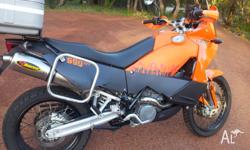 Up for sale is my 06 KTM adventure. The bike is still