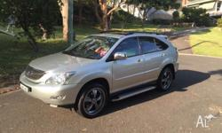 2006 Lexus RX350 Sports Luxury, features include;