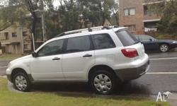 2006 Outlander Mitsubishi for sale in bankstown New