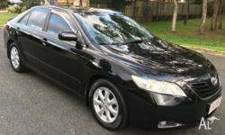 This Toyota Camry is a dynamic family vehicle, with a